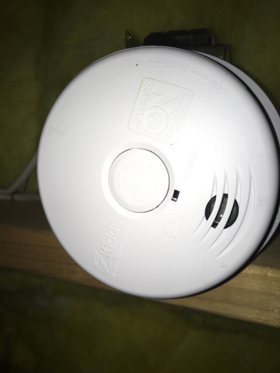 10 Year Worry Free Smoke Detectors With Lithium Battery In Bethlehem Allentown Electrician