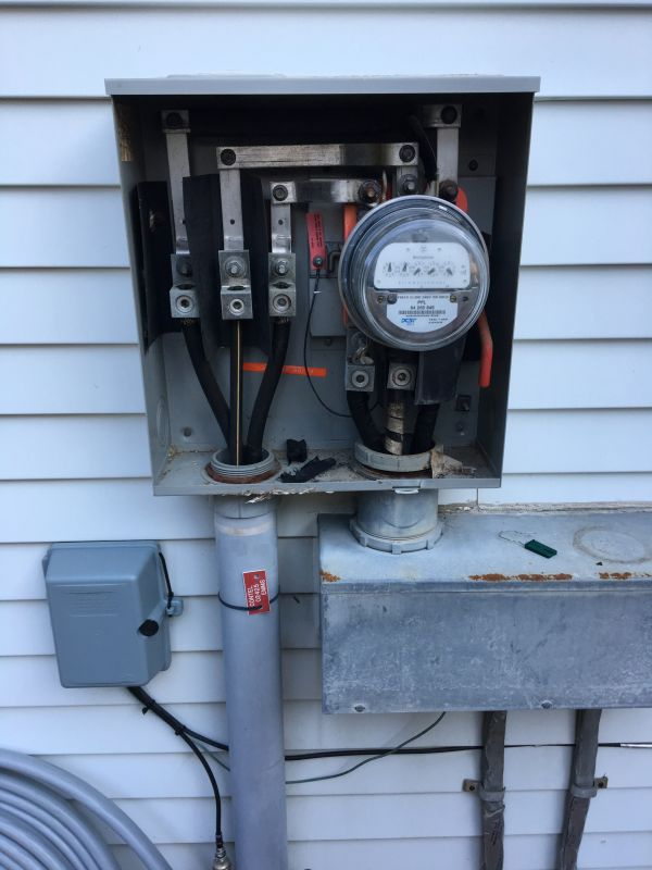 Meter Base Replacement In Emmaus Pa Allentown Electrician