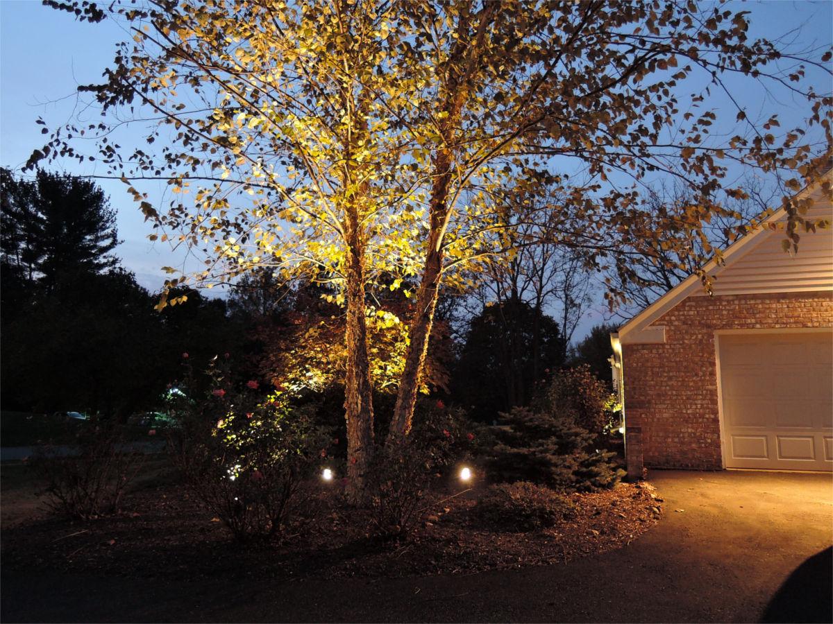 Kichler landscape lighting and security lighting in allentown pa aloadofball Images