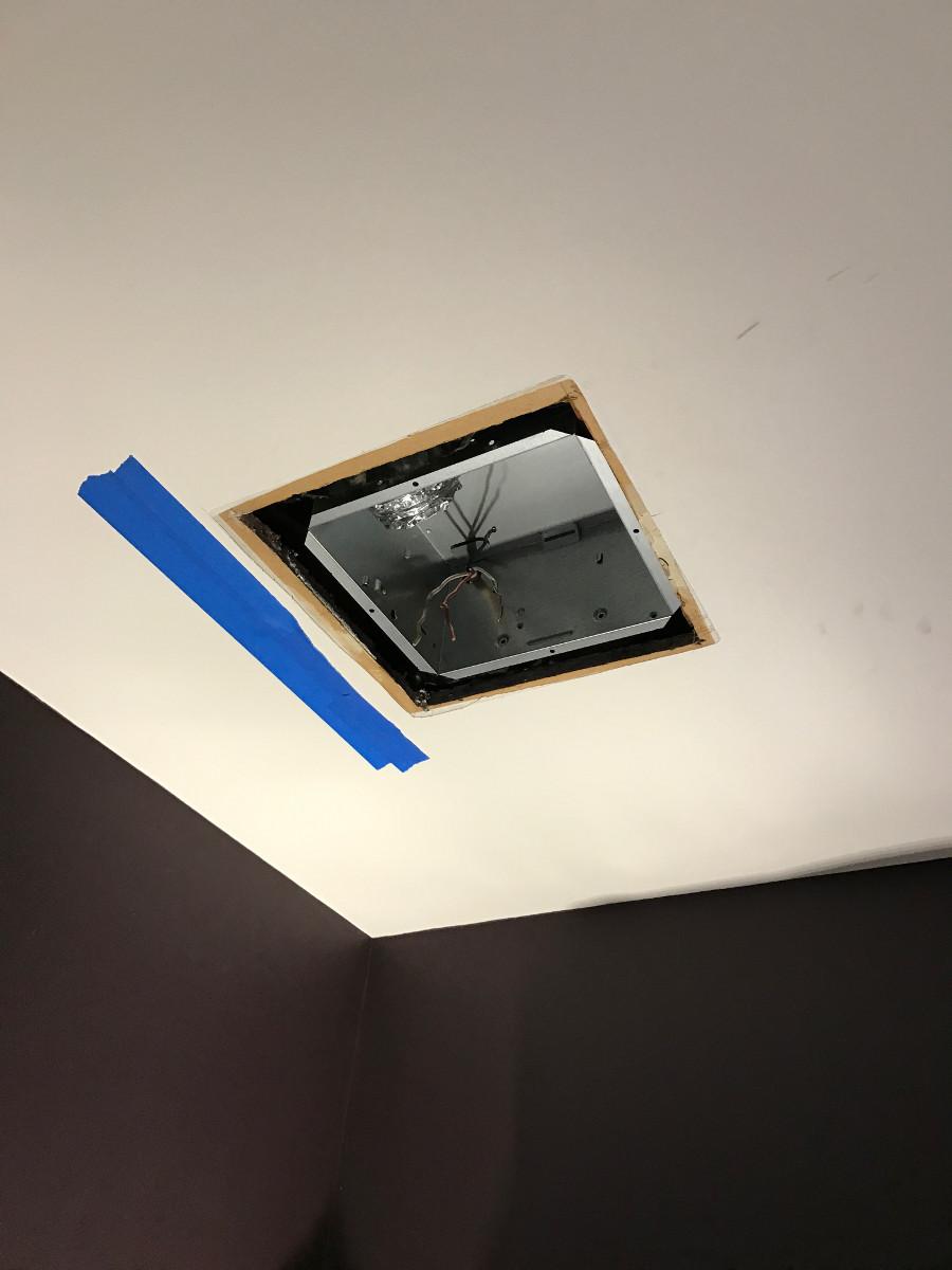 Replaced Obsolete Bathroom Exhaust Fan In Allentown Pa